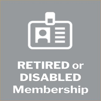 Picture of Membership - Retired/Disabled