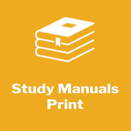 Picture for category Study Manuals - Print