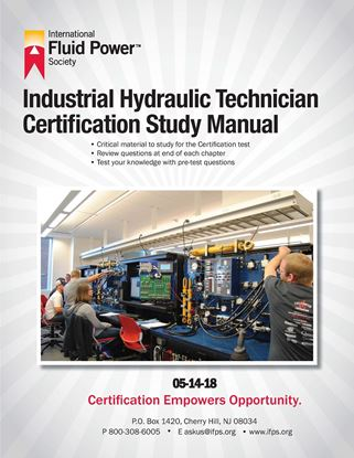 Picture of Industrial Hydraulic Technician Study Manual