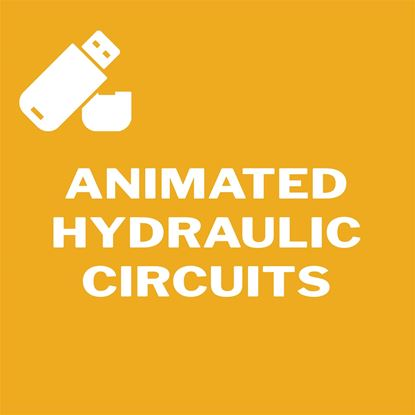 Picture of Animated Hydraulic Circuits Flash Drive