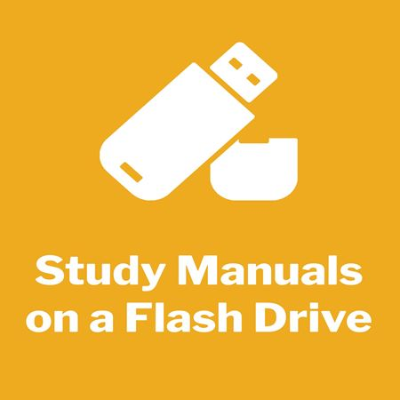 Picture for category Study Manuals - Flash Drive