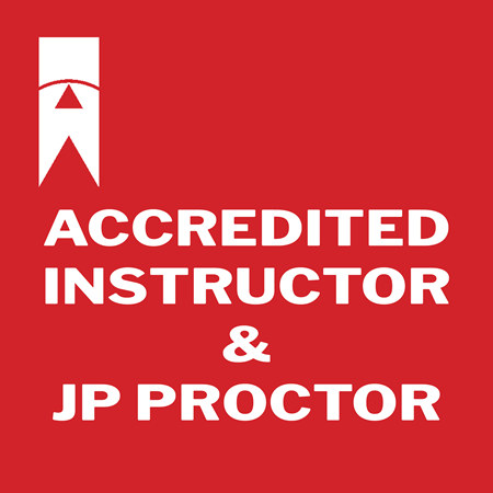 Picture for category Accredited Instructor & Job Performance Proctor