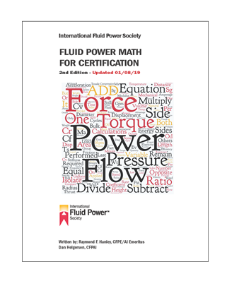 Picture of Fluid Power Math for Certification