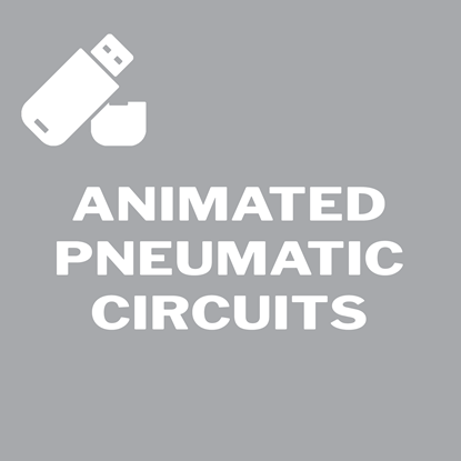 Picture of Animated Pneumatic Circuits Flash Drive