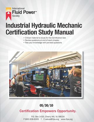 Picture of Industrial Hydraulic Mechanic Study Manual