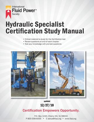 Picture of Hydraulic Specialist Study Manual